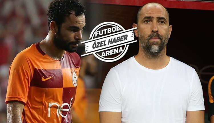 Galatasaray'da Igor Tudor, Selçuk İnan ile görüştü