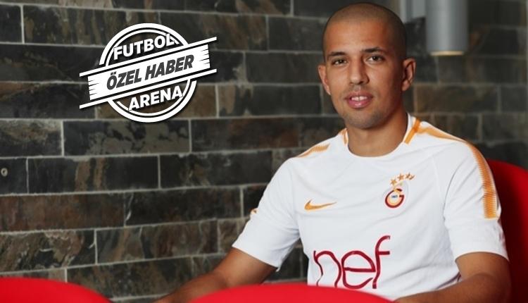 Galatasaray'da Tudor'dan Feghouli'ye uyarı