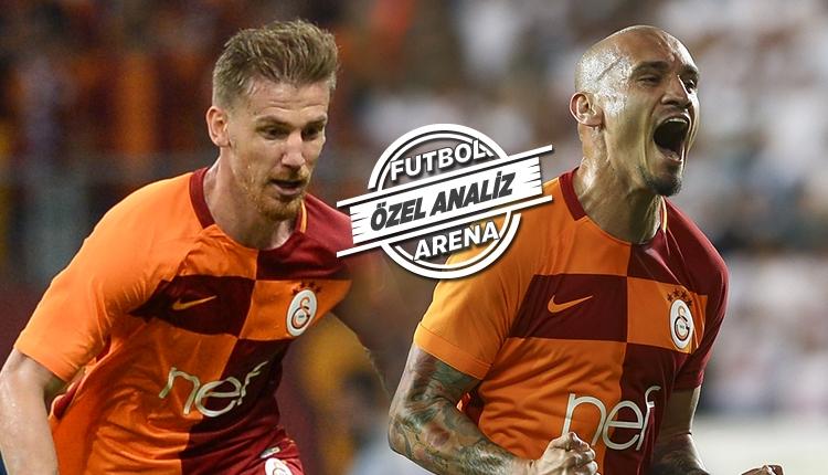 Galatasaray'da Maicon - Serdar Aziz ikilisi alkış topluyor