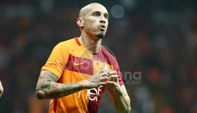Galatasaray'da Maicon'dan hakeme penaltı tepkisi