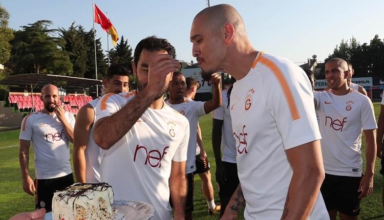 Galatasaray'da Martin Linnes düz koşulara başladı