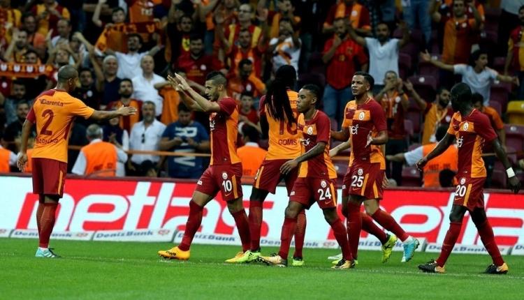 Galatasaray'da paslar artık yana değil dikine