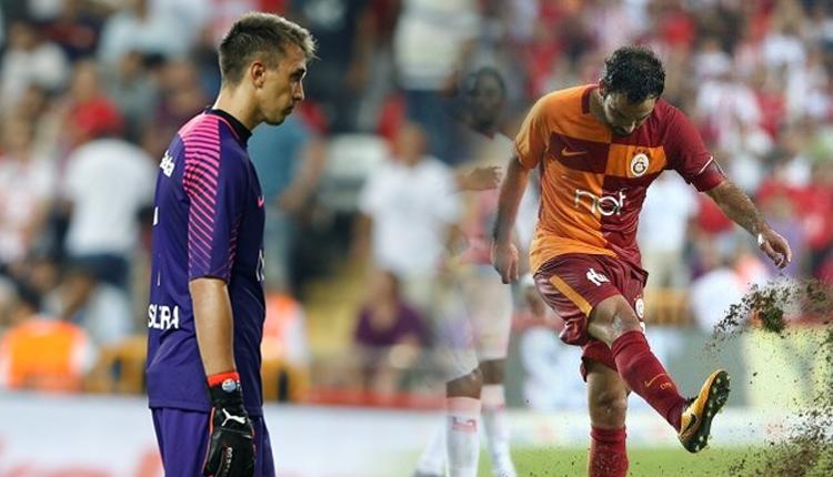 'Galatasaray'da Selçuk İnan, Muslera'yı küçük düşürdü'