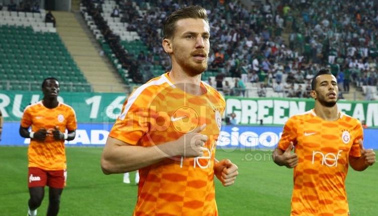 Galatasaray'da Serdar Aziz'den Bursaspor taraftarına cevap