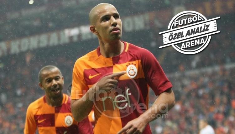 Galatasaray'da Sofiane Feghouli kalitesini konuşturdu
