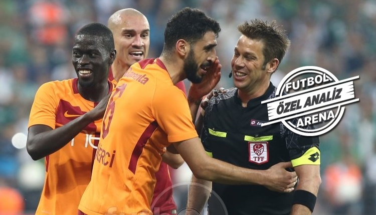 Galatasaray'da Tolga Ciğerci yine sahneye çıkt!