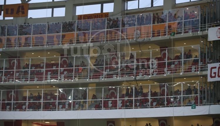 Galatasaray'da ultrAslan'dan Antalyaspor'a olay sözler!