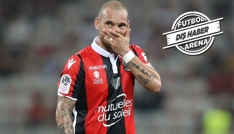Galatasaray'dan ayrılan Wesley Sneijder, Fransa'da bidon transfer seçildi!