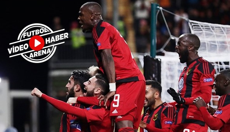 Galatasaray'ı eleyen Östersunds şov yapıyor (İZLE)