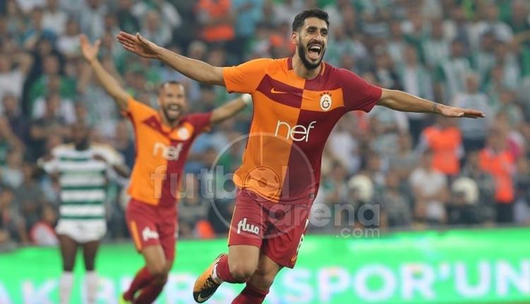 Galatasaraylı Tolga Ciğerci Avrupa'nın en golcü orta saha oyuncusu
