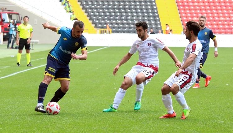 Ankaragücü'nde İsmail Kartal'dan maç sonu itiraf! 'Farkındayız'