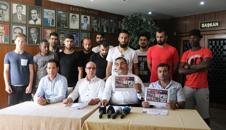Gaziantepspor'un transfer ettiği 18 futbolcu elinde kaldı