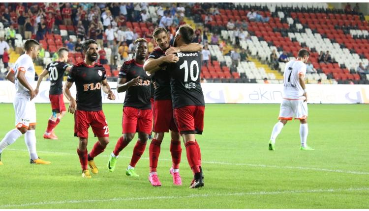 Gazişehir Gaziantep 4-0 Adanaspor maçı özeti ve golleri İZLE