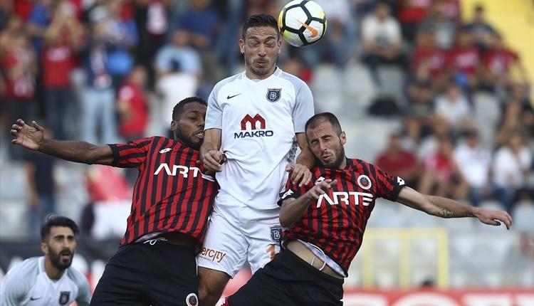 Gençlerbirliği 1-0 Başakşehir maçı özeti ve golü (İZLE)