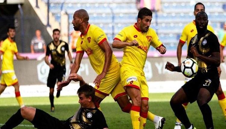 Göztepe'den Süper Lig'e etkili başlangıç