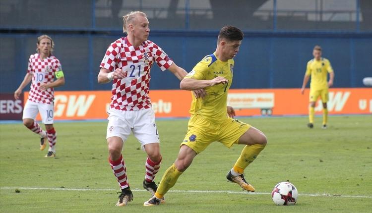 Hırvatistan 1-0 Kosova maç özeti ve golleri