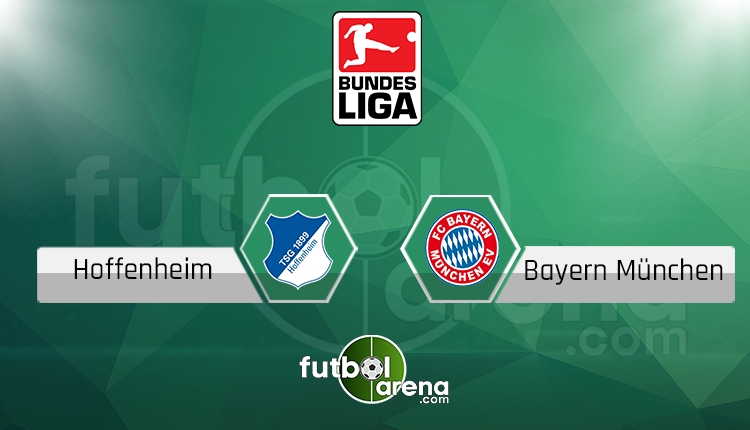 Hoffenheim Bayern Münih canlı skor, maç sonucu - Maç hangi kanalda?