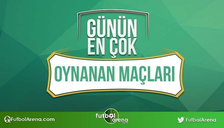 İddaa'da bugün en çok oynanan maçlar ve kuponlar - Bu Maçlara DİKKAT! (Tarih 12 - 09 - 2017)