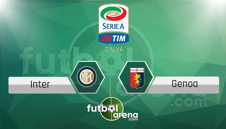 İnter Genoa canlı skor, maç sonucu - Maç hangi kanalda?