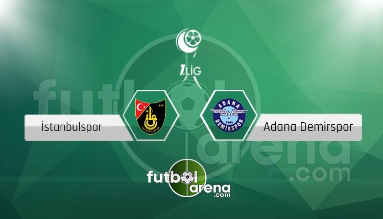 İstanbulspor Adana Demirspor canlı skor, maç sonucu - Maç hangi kanalda?