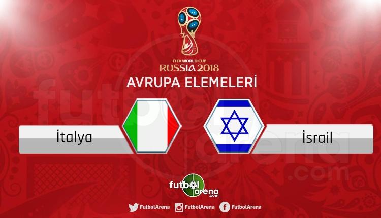 İtalya İsrail canlı skor, maç sonucu - Maç hangi kanalda?