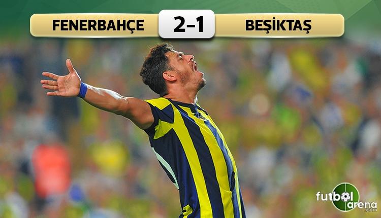 Fenerbahçe 2-1 Beşiktaş maç özeti ve golleri (İZLE)