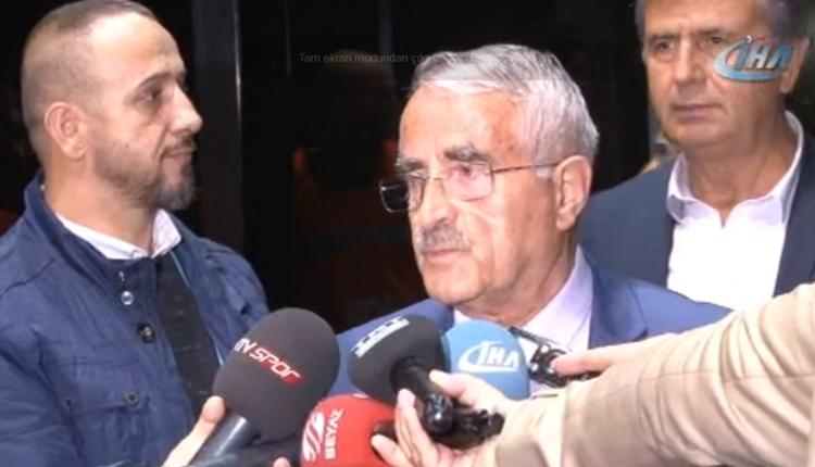 Karabükspor Başkanı Ferudun Tankut'tan Galatasaray'a tebrik