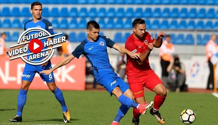 Kasımpaşa - Kayserispor maçı özeti ve golleri (İZLE)