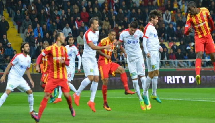 Kayserispor - Antalyaspor maçının bilet fiyatları belli oldu