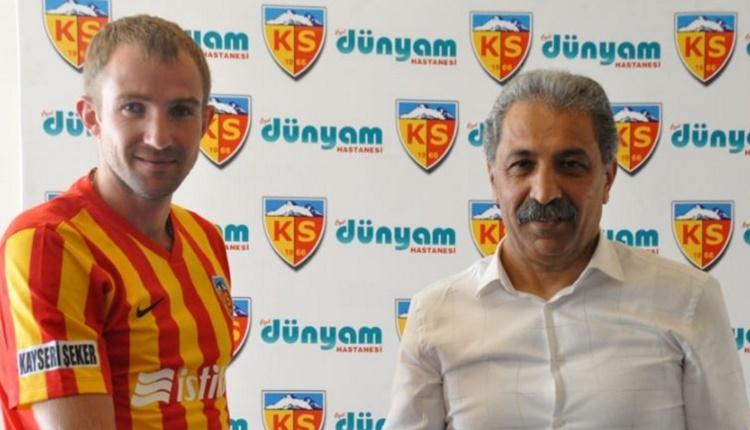 Kayserispor'da Oleksandr Kucker milli takıma çağrıldı