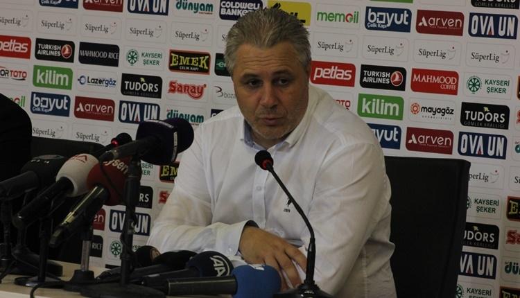 Kayserispor'da Sumudica'dan Antalyaspor yorumu