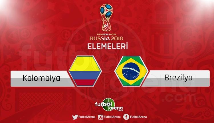 Kolombiya Brezilya canlı skor, maç sonucu - Maç hangi kanalda?
