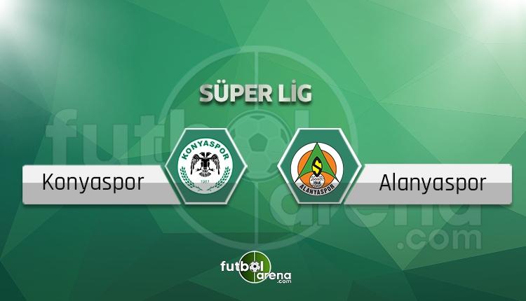 Konyaspor Alanyaspor canlı skor, maç sonucu - Maç hangi kanalda?
