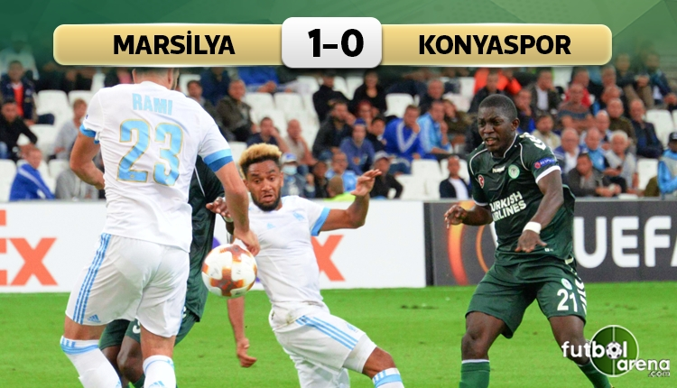 Marsilya 1-0 Konyaspor maç özeti ve golü (İZLE)