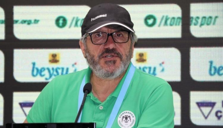 Konyaspor'da Mustafa Reşit Akçay mağlubiyeti böyle savundu