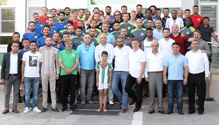 Konyaspor'da Mustafa Reşit Akçay'dan oyuncularına övgü