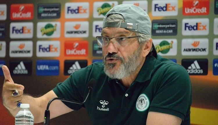 Konyaspor'da Mustafa Reşit Akçay'ın galibiyet sevinci! 'Kutluyoruz çünkü çok zor'