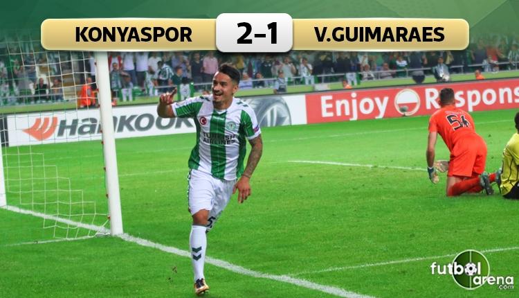 Konyaspor, Guimaraes'i yıktı geçti