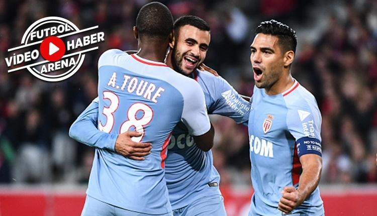 Lille - Monaco maçı özeti ve golleri (İZLE)