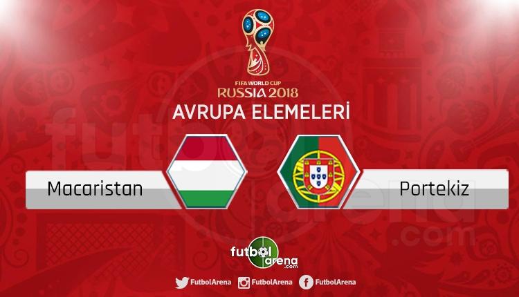 Macaristan Portekiz canlı skor, maç sonucu - Maç hangi kanalda?