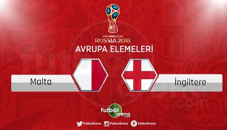 Malta İngiltere canlı skor, maç sonucu - Maç hangi kanalda?