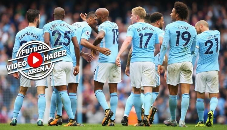 Manchester City - Crystal Palace maçı özeti ve golleri