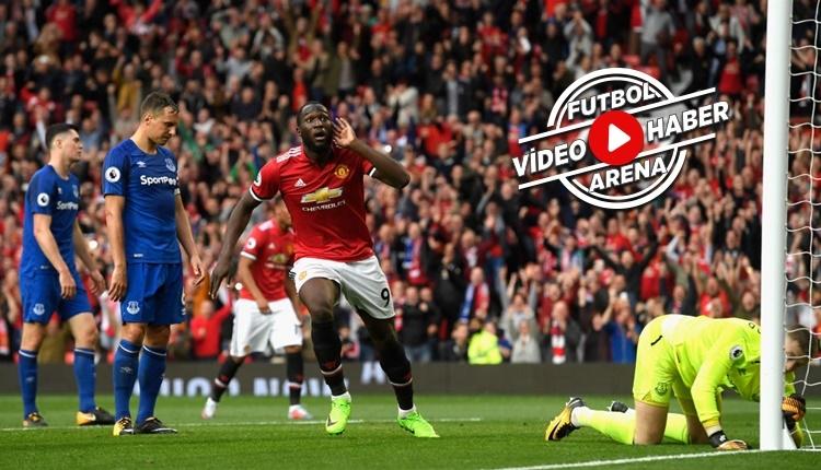 Manchester United - Everton maçı özeti ve golleri İZLE
