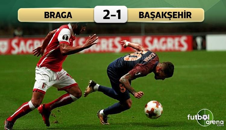 Braga 2-1 Medipol Başakşehir maç özeti ve golleri (İZLE)