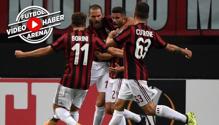 Milan 3-2 Rijeka maçı özeti ve golleri (İZLE)