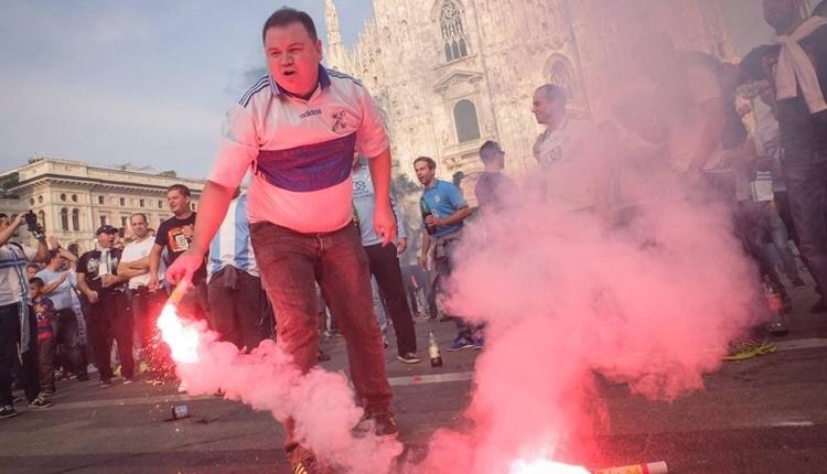 Milan maçı öncesi Rijeka taraftarından görülmemiş ayıp
