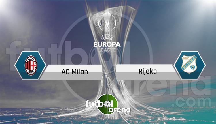 Milan - Rijeka canlı skor, maç sonucu - Maç hangi kanalda?