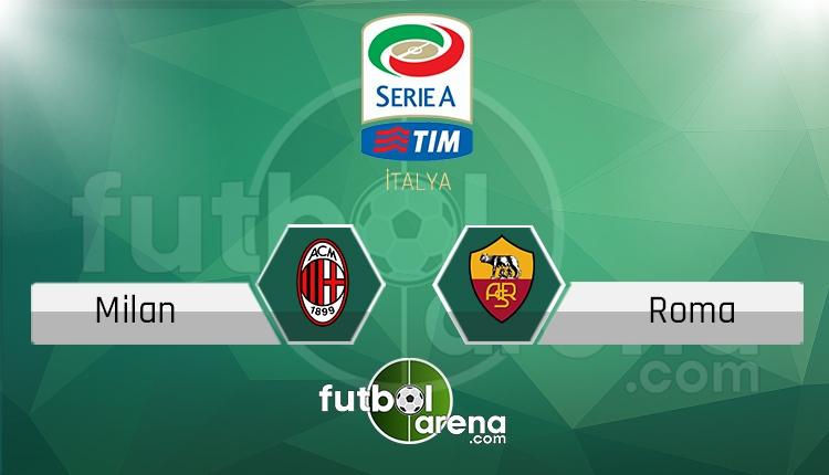 Milan Roma canlı skor, maç sonucu - Maç hangi kanalda?