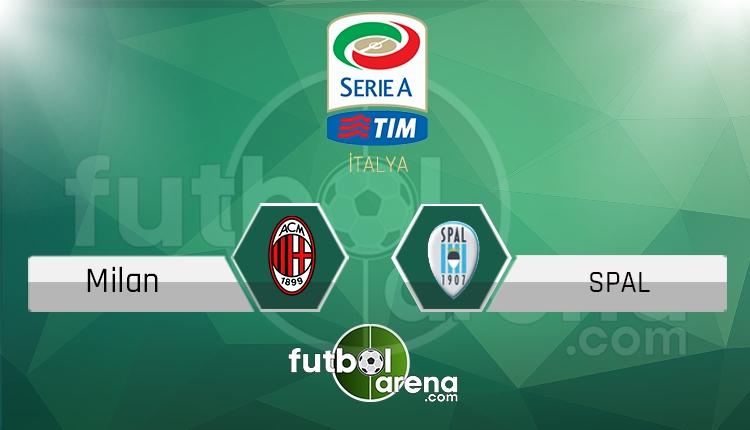 Milan SPAL canlı skor, maç sonucu - Maç hangi kanalda?