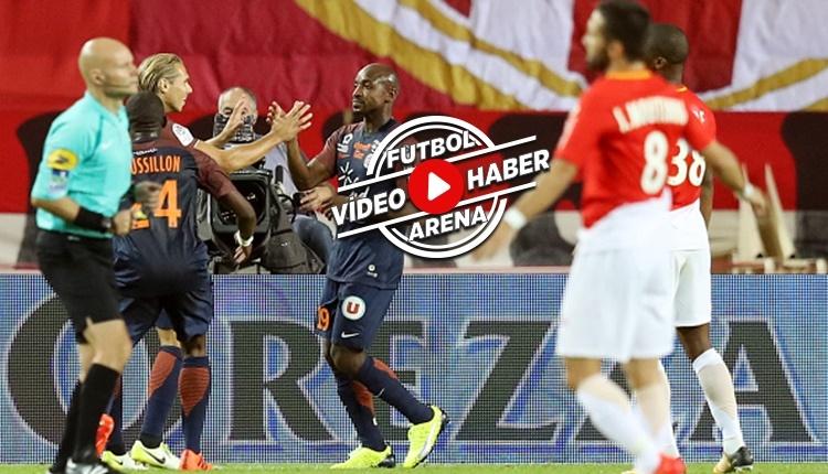 Monaco Montpellier maçı özeti ve golleri (İZLE)